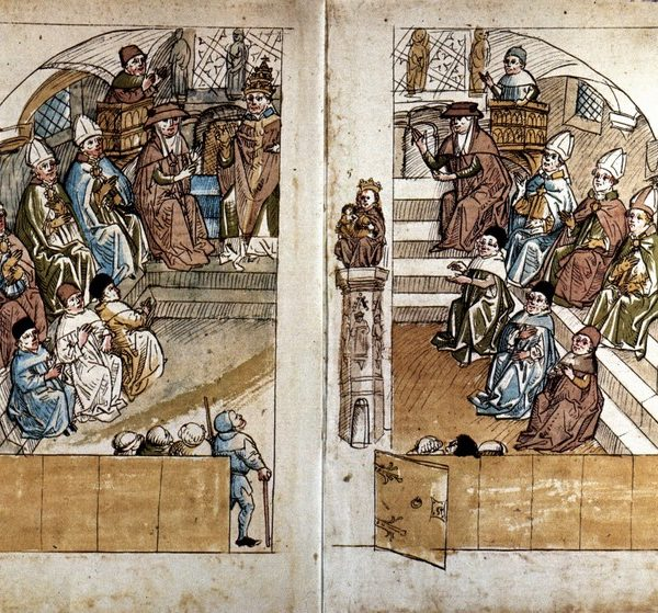 Собор в Констанце длился почти четыре года и избрал нового Папу / Wikipedia