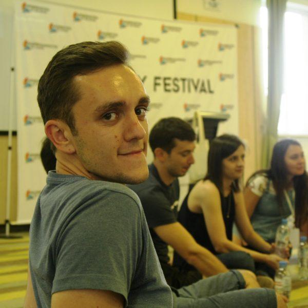 Участники проекта на театральном мастер-классе