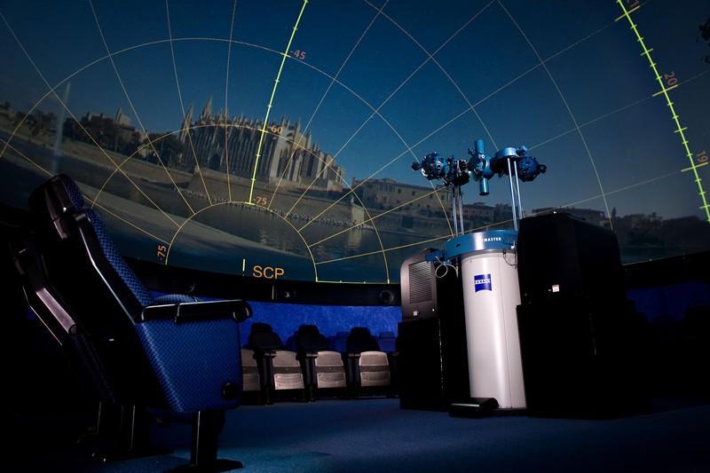 Zeissprojektoren weltweit: Planetarium Mallorca. / Danyel André