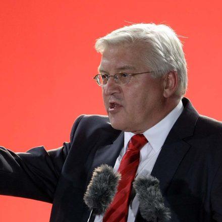На кого же указывает кандидатура Штайнмайера? На «красного» бундес- канцлера, который сменит Ангелу Меркель? Или же на саму Меркель?.. / Ute Vogt