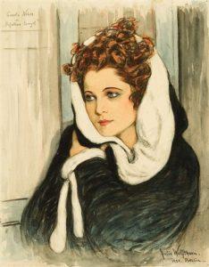 Карола Неер в «Падших ангелах». Картина Юлии Вольфторн, 1929 / Wikipedia